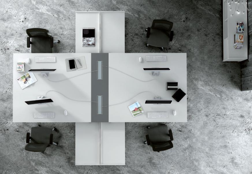 Mobiliario de Oficinas ADAPTA 2+