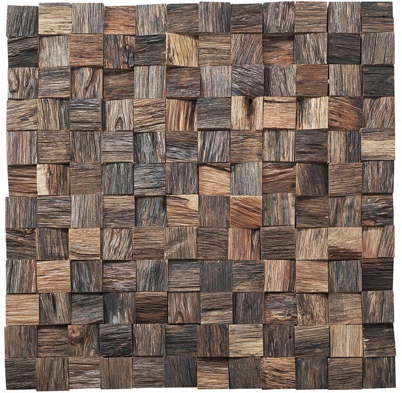 Revestimiento madera Mosaico madera