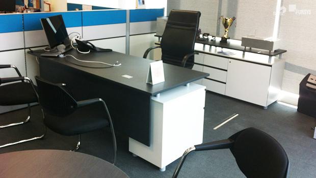 Oficinas Samsung Electronics con Mobiliario Fursys