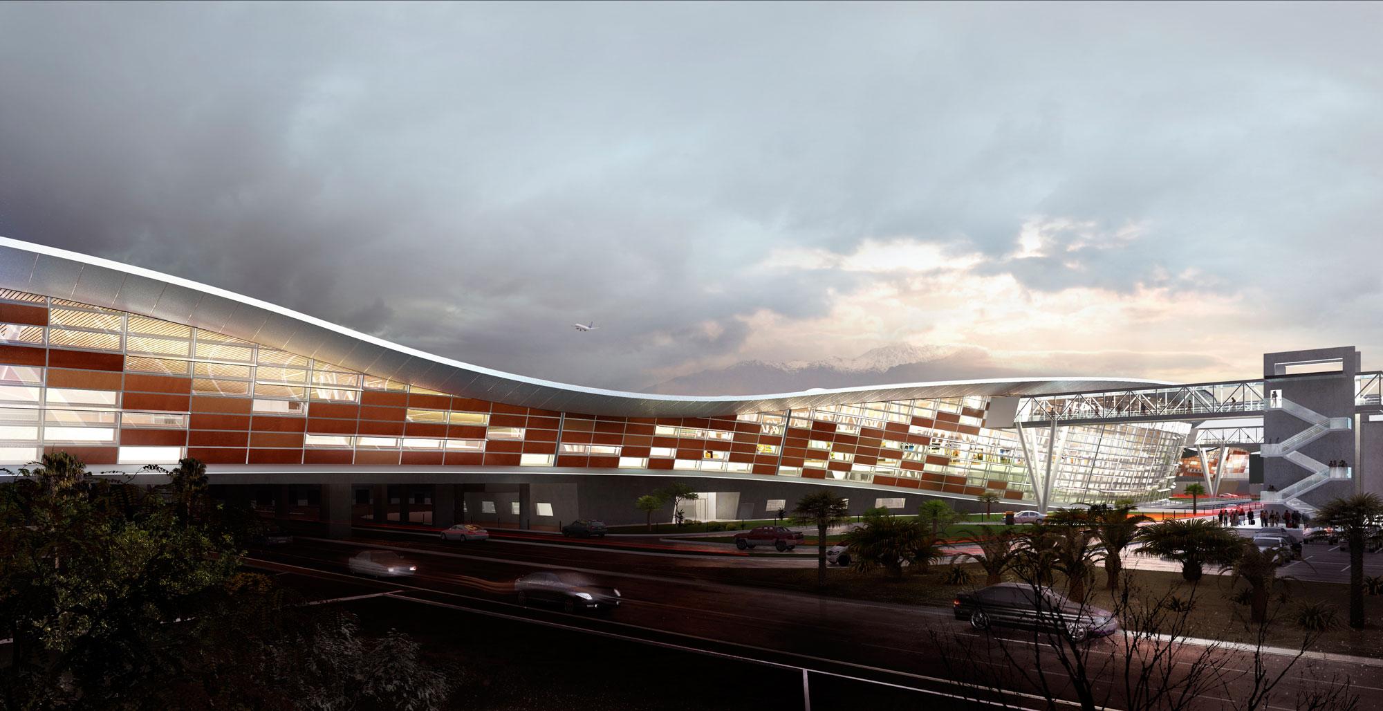 Aeropuerto Nuevo Pudahuel, BIM.