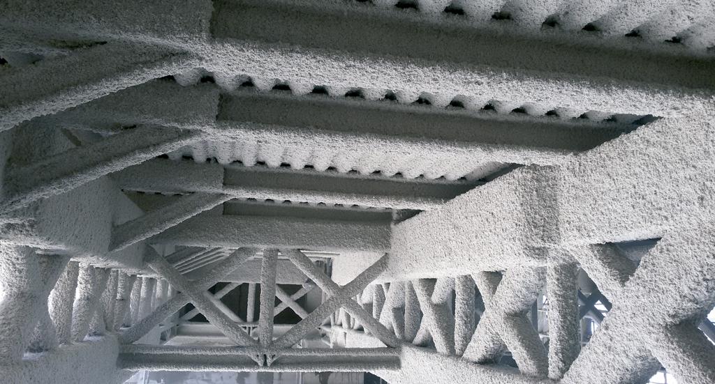 tecwool para proteccion de elementos de acero