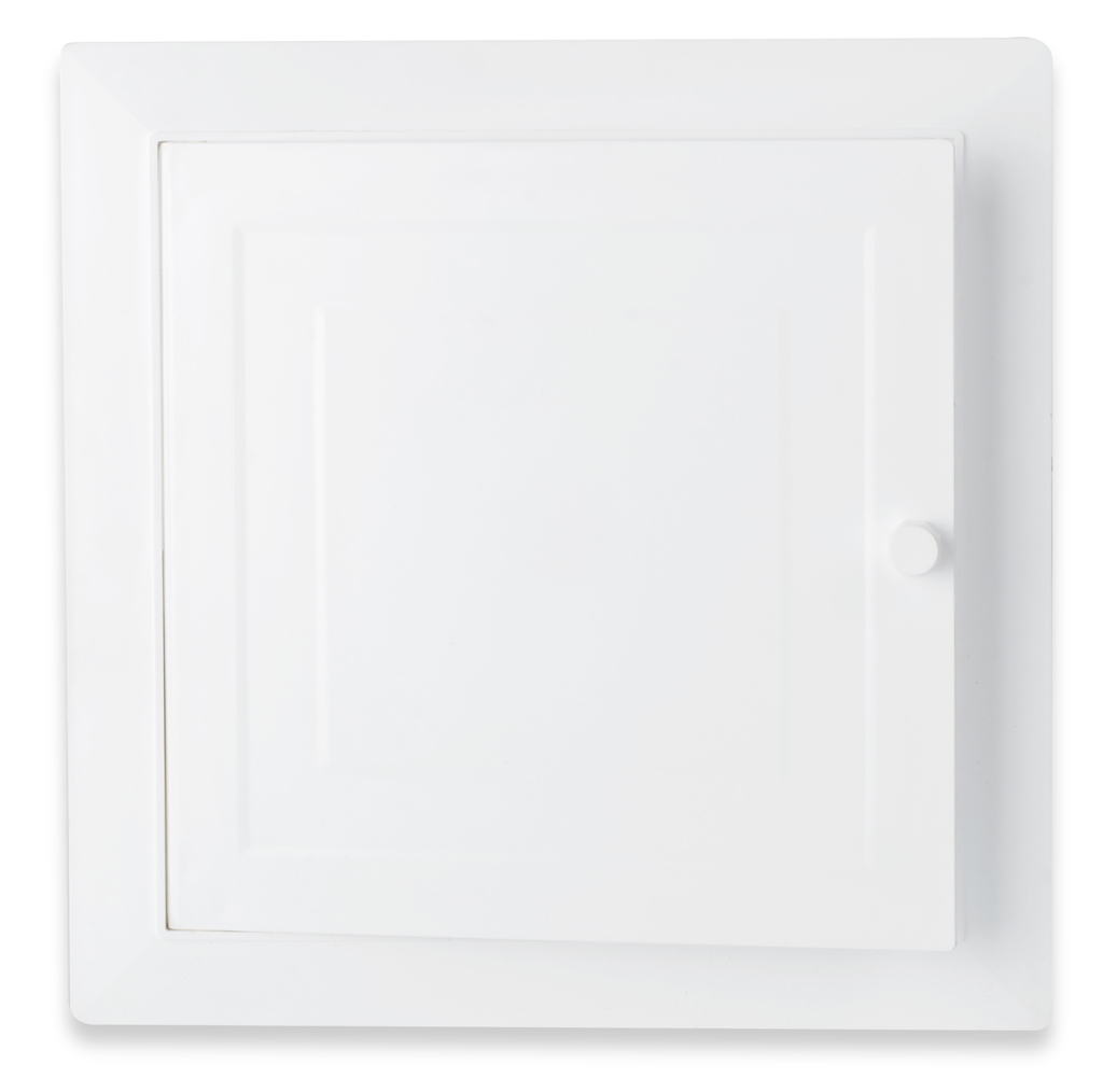 Panel con puerta corriente