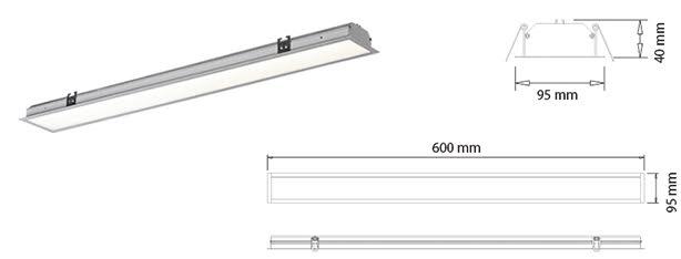 Paneles Lineales LED