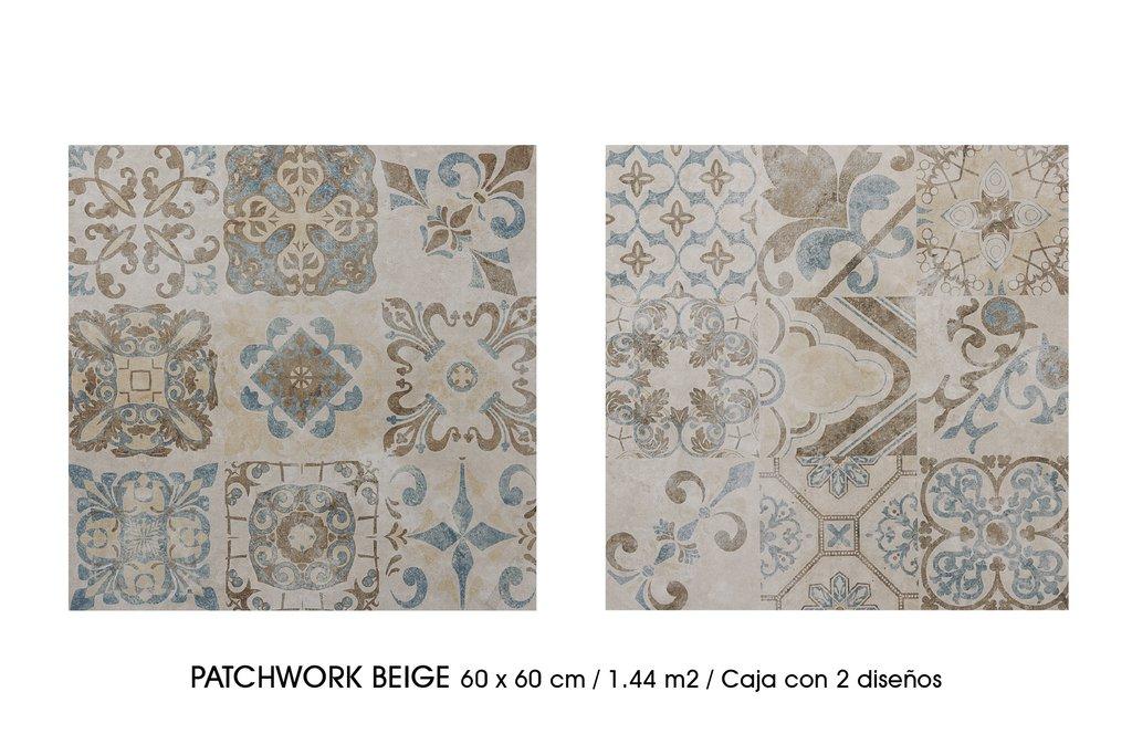 Porcelanato Esmaltado Patchwork  Wasser