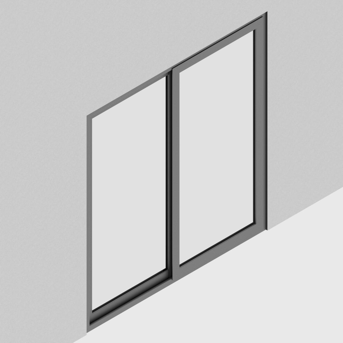 Puerta Corredera Piso Cielo QT Rahmen