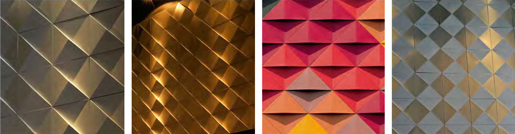 Variedades de diseño Piramid - Hunter Douglas