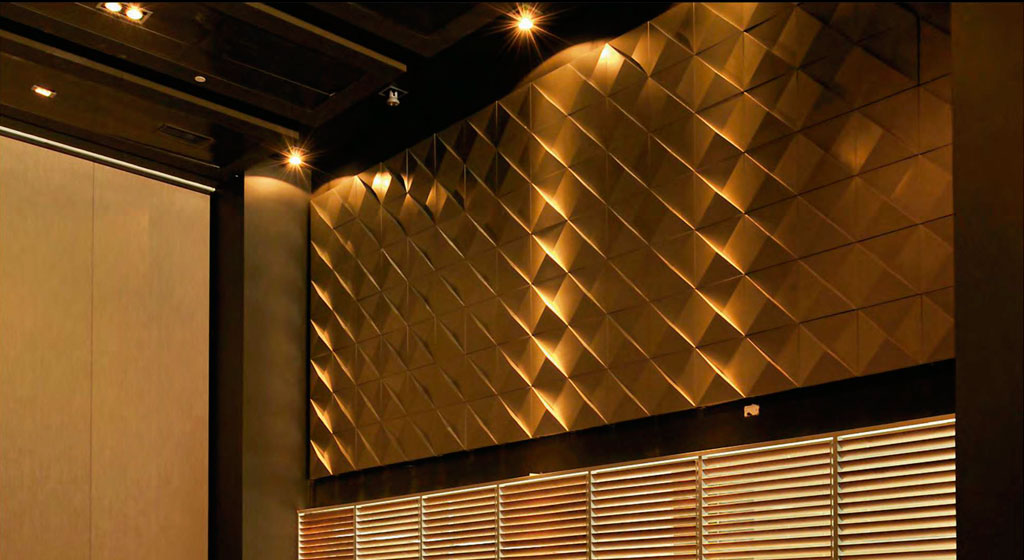 Revestimiento Piramid - Hunter Douglas