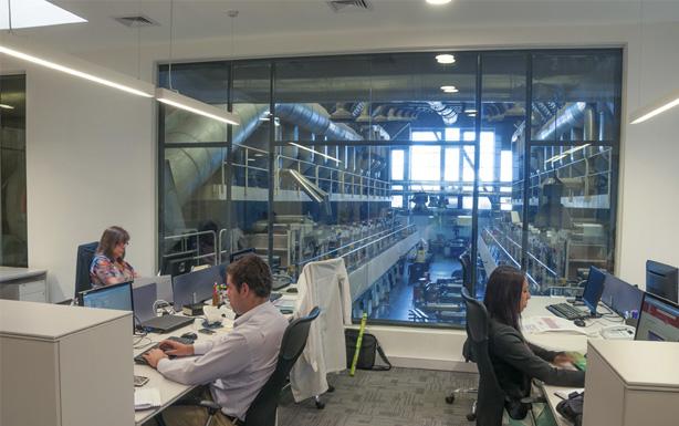 Remodelación en Oficinas ALUSA