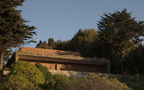 Revestimiento Trespa Meteon en Casa Rocas