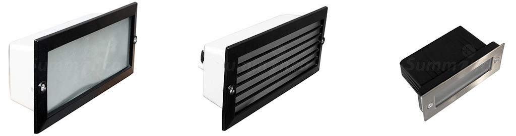 SI-RAMPA LISA - SI-RAMPA CON REJILLA - SI-MINI RAMPA LED RECTANGULAR