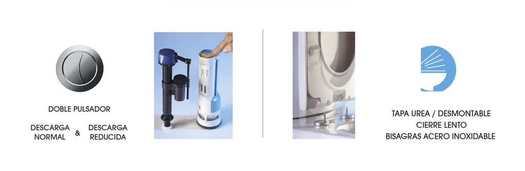 Sanitario Conjunto Magnet  Wasser