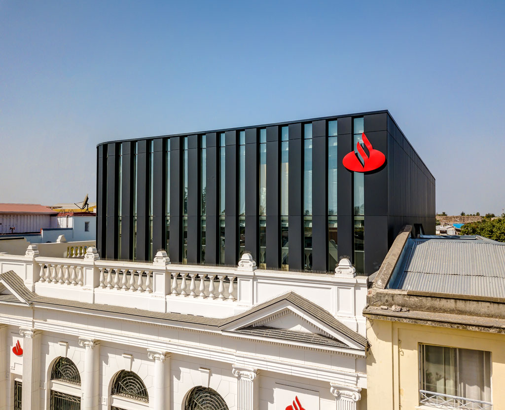 Rehabilitación Edificio Santander Talca