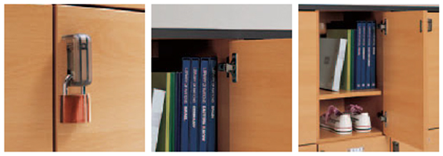 Serie Lockers para estudiantes