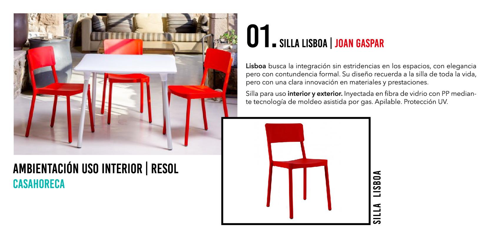 Silla Lisboa - Casahoreca.com