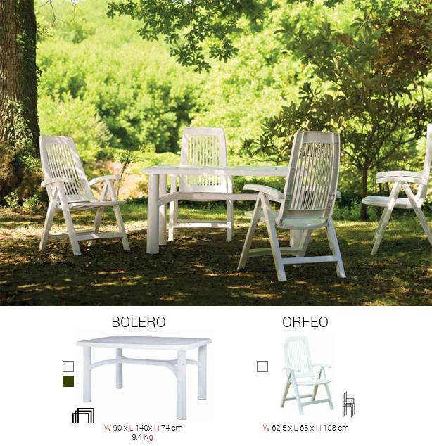 Sillas y mesas Mobiliario de Terrazas