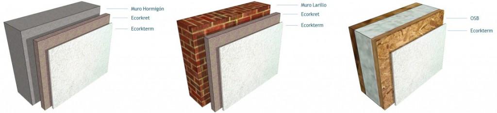 Sistema EIFS (Ecorkret + Ecorkterm)