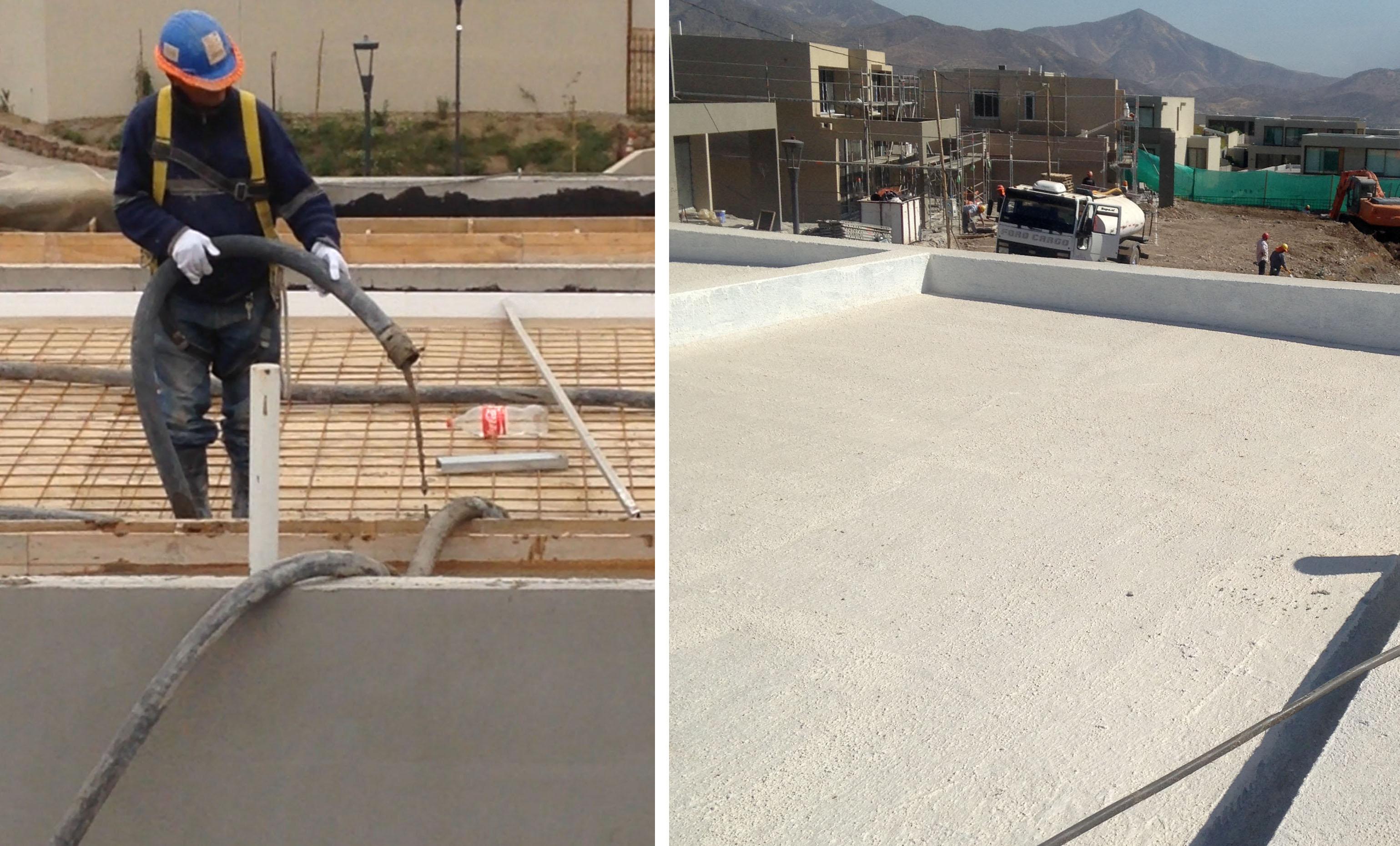 Sistema Ecork FRIFS para terrazas