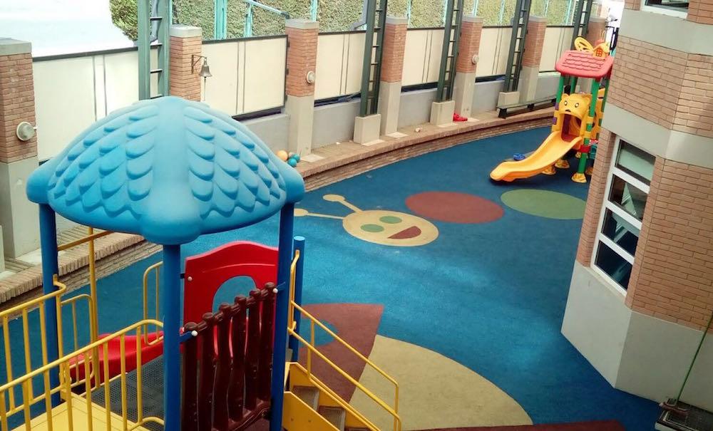 Sistema de pavimentos para Playground Colegio St Margaret de Con-Con