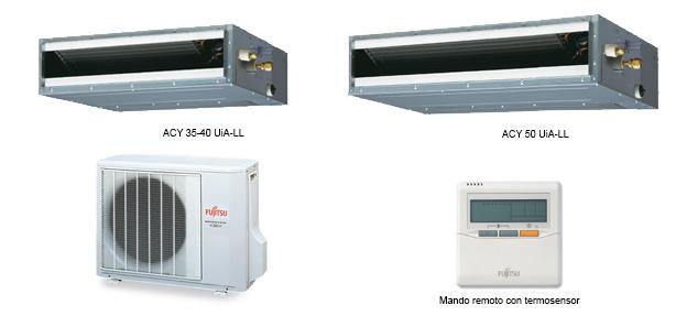 Split Conductos Inverter Fujitsu Slim LL