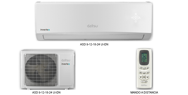 Split Muro Inverter Daitsu Air
