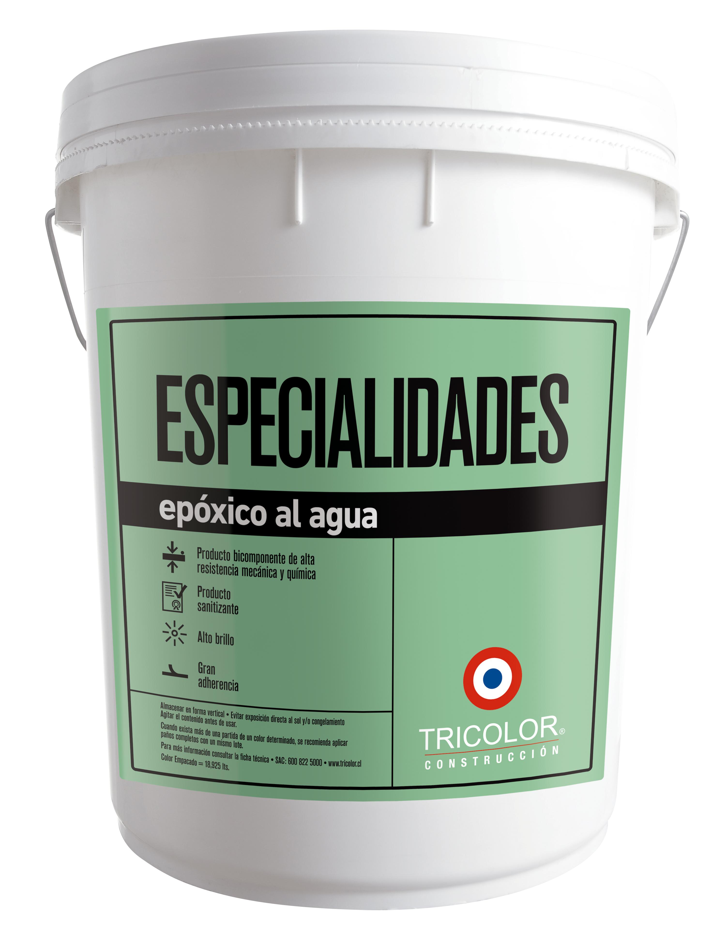 Esmalte Epóxico al agua Tricolor