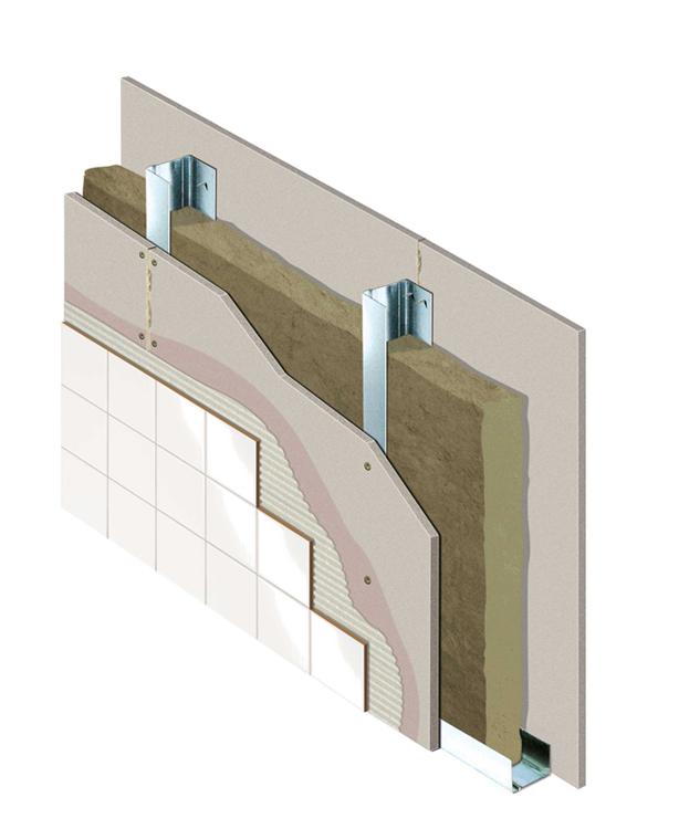 Tabique Aquapanel Indoor