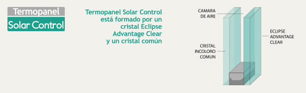 Termopanel Solar Control