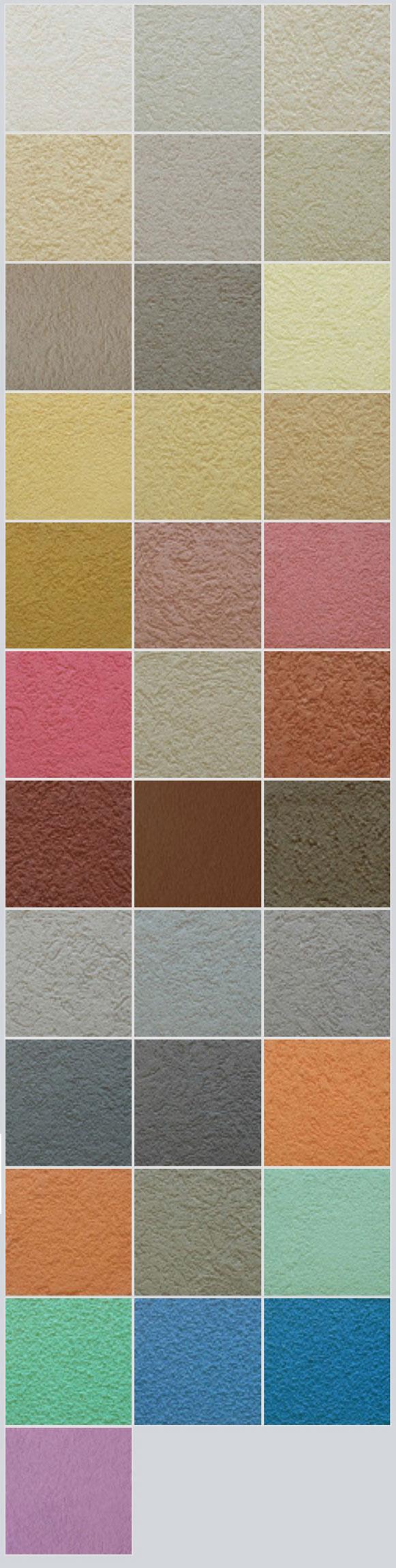 Colores Revestimiento texturado Revestikol