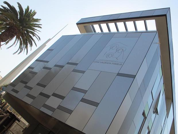 Trespa® en Edificio Fundación Casa Sagrada Familia