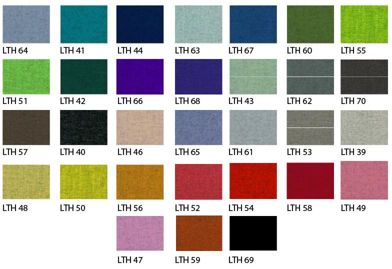 Colores de bafles acusticos Paramento Design