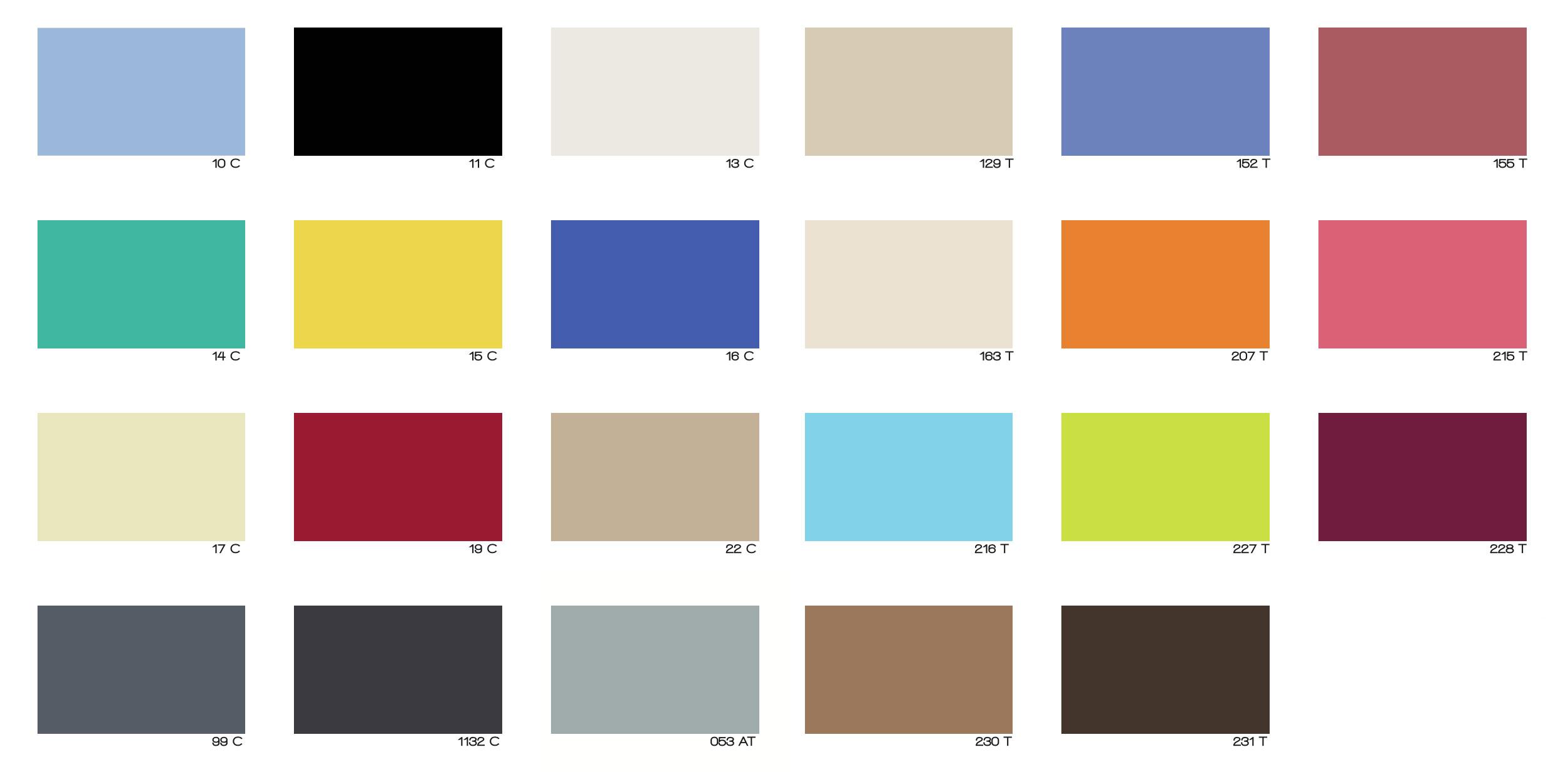 Laminados compactos exteriores colores. ADS Chile.
