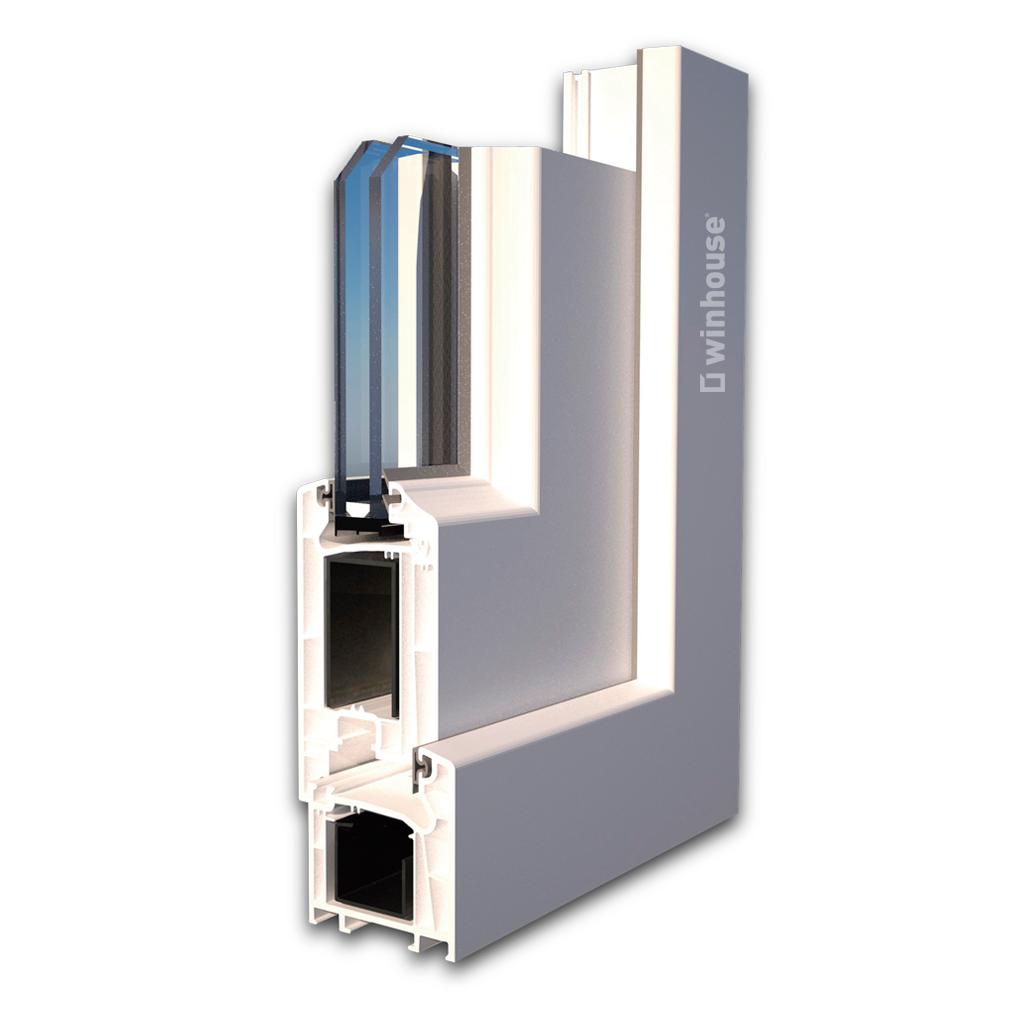 Cota puerta perfil PVC S60