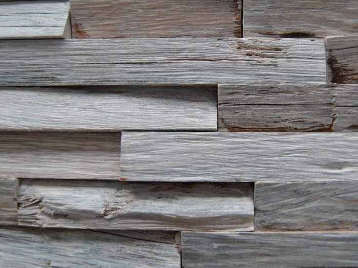 Revestimiento madera color White