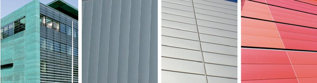 Paneles de fachadas 150 F