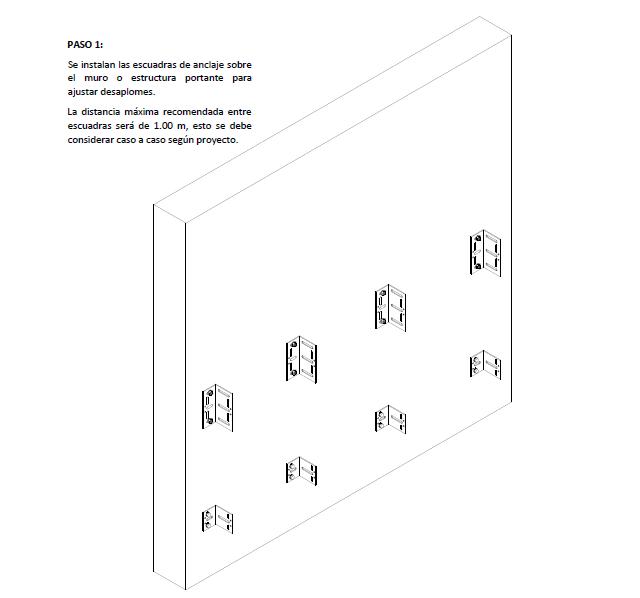 detalle fachada ventilada - truebond