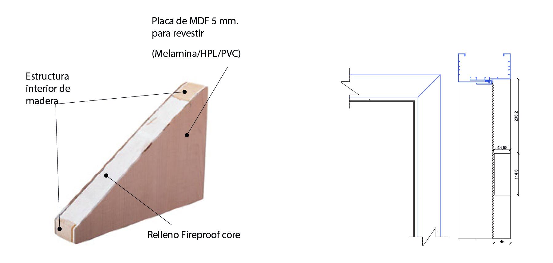 esquema 1 marco telescopico hoteles sysprotec