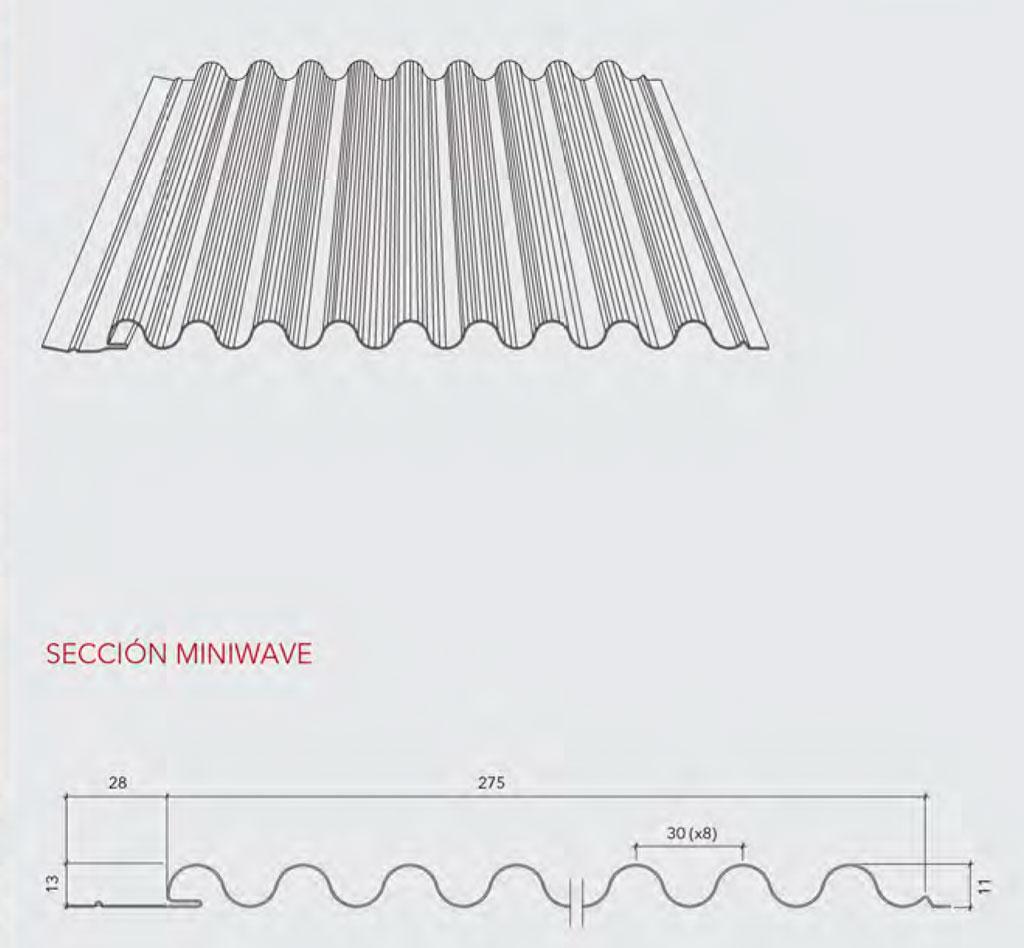 Revestimiento interior Miniwave - Hunter Douglas