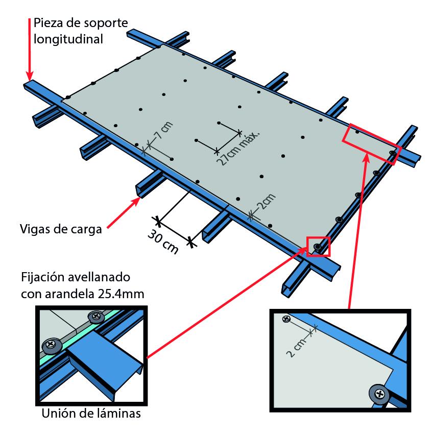 esquema 2 instalacion volcanboard