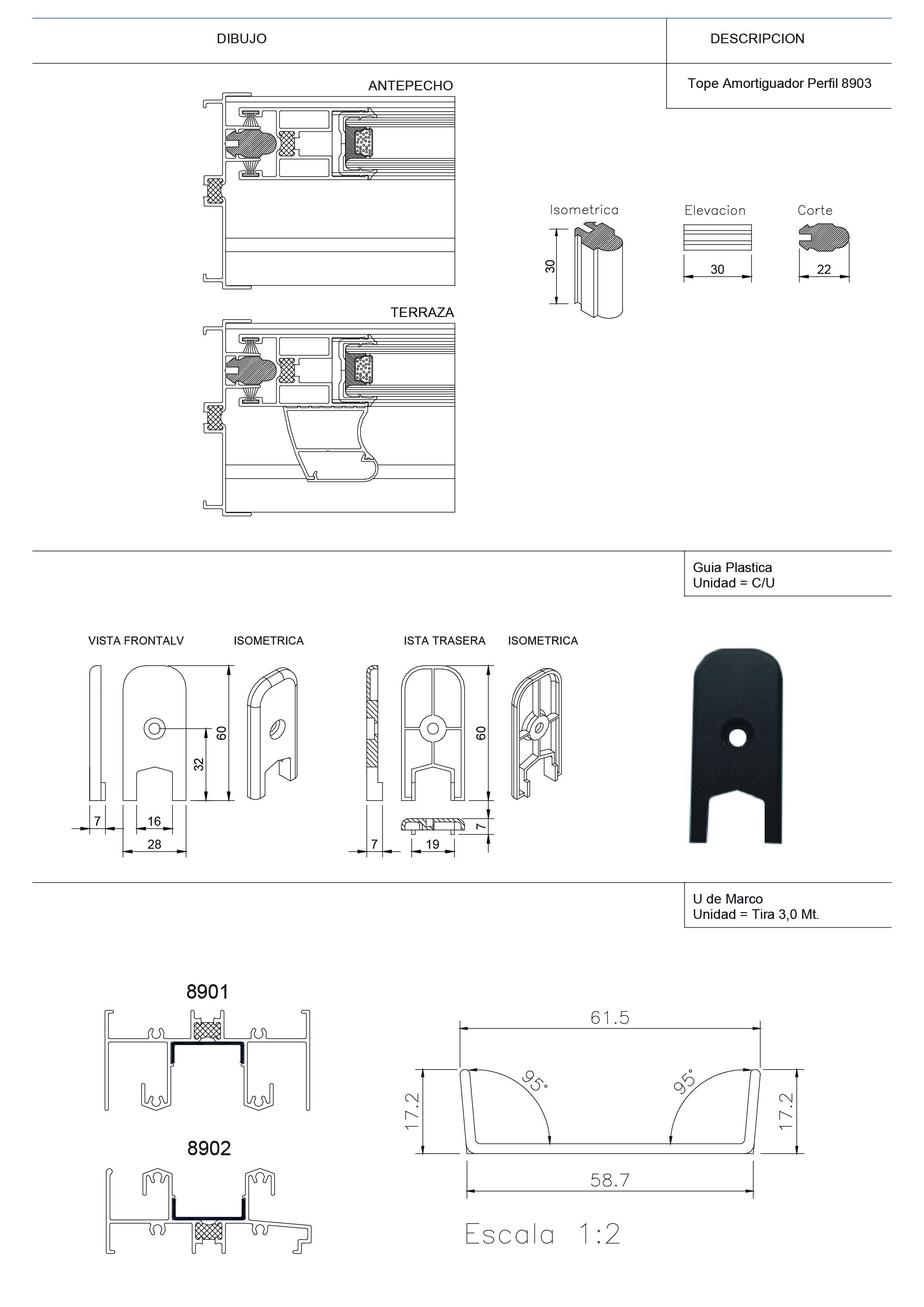 esquema 2 accesorios adjuntos superior 89 qt