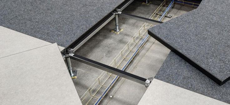 Estructura piso tecnico - Ingal