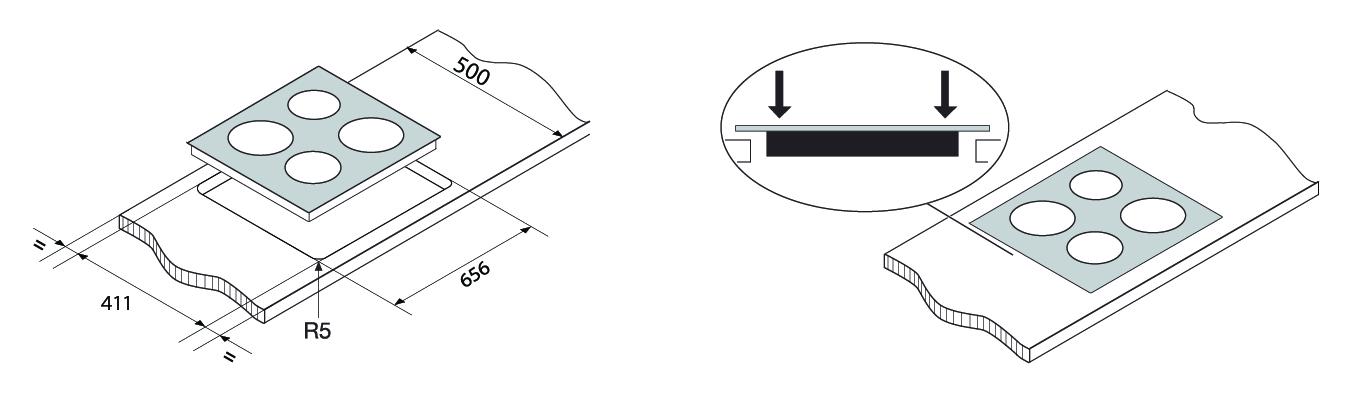 extracto instalacion vitroceramico