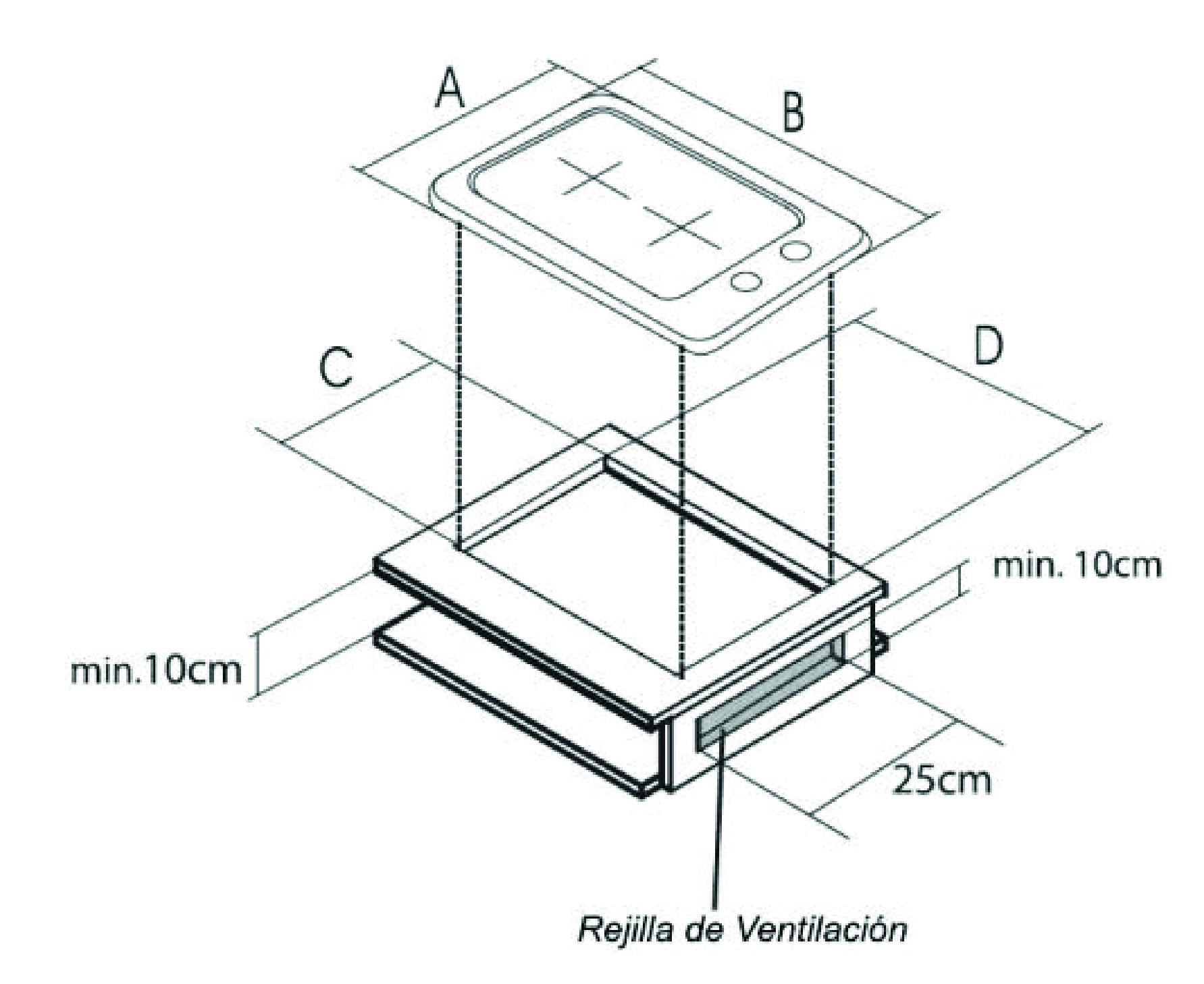 esquema 1 instalacion encimera
