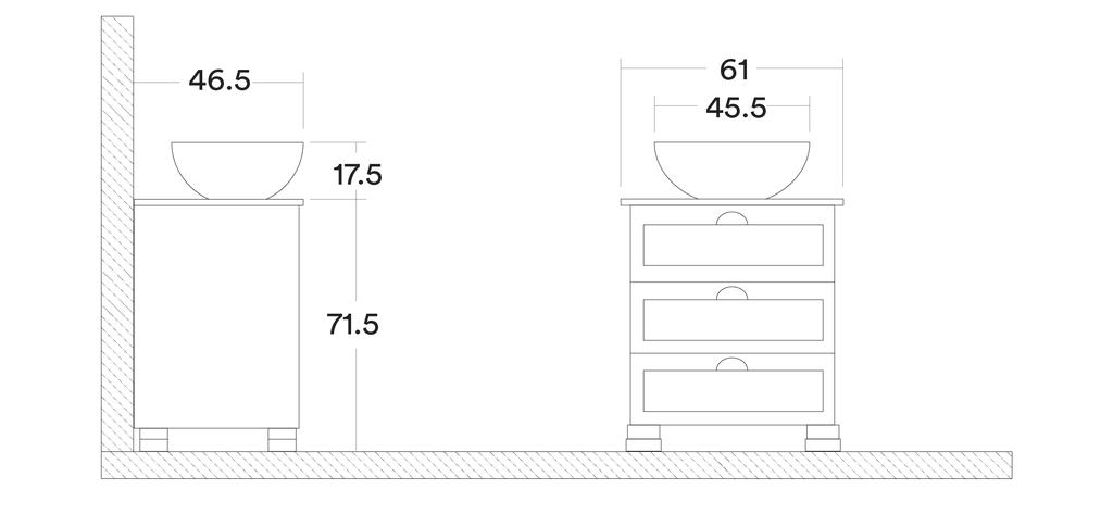 muebles de baño chelsea - CHC