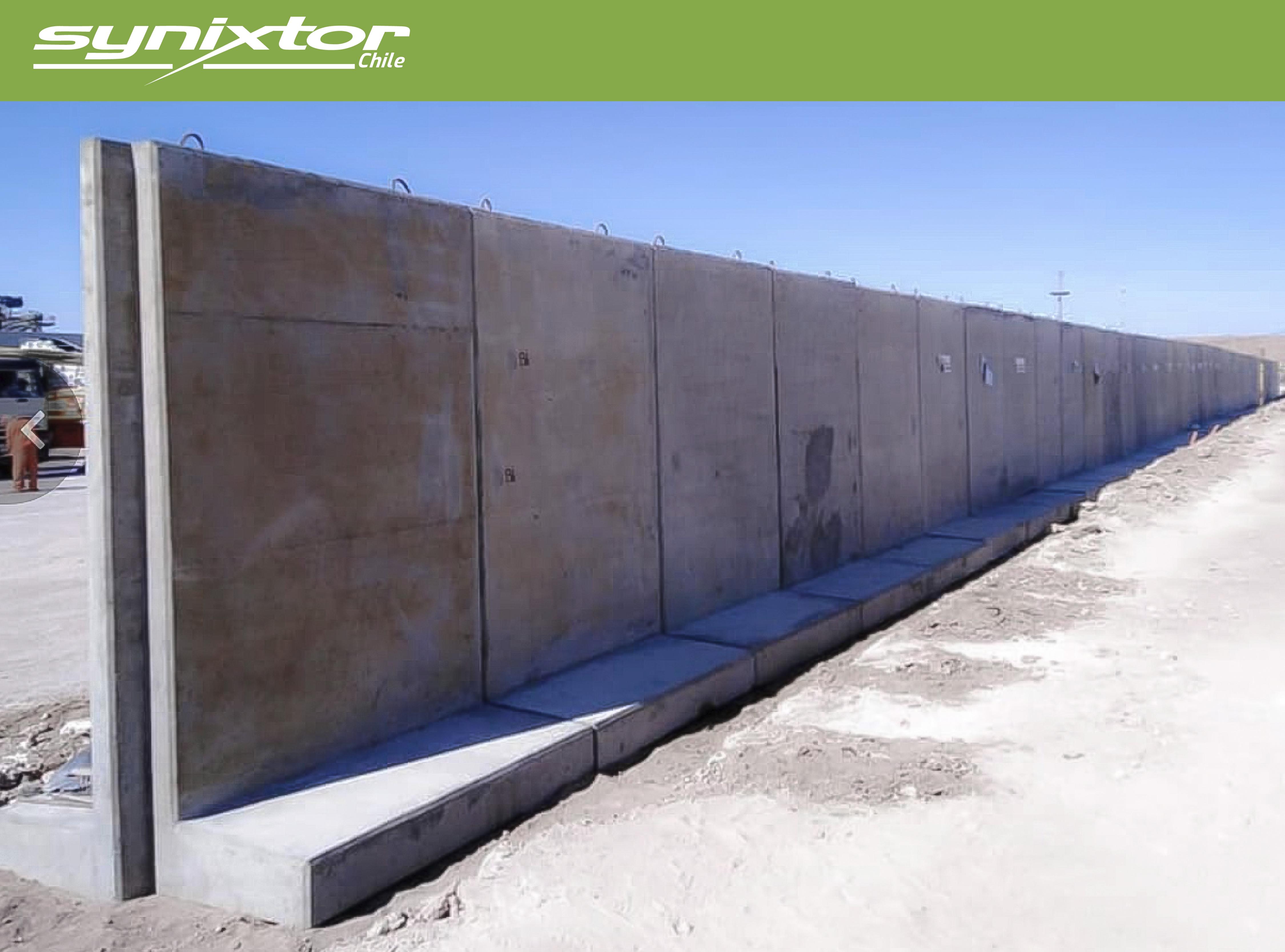 muro antivandalismo synixtor
