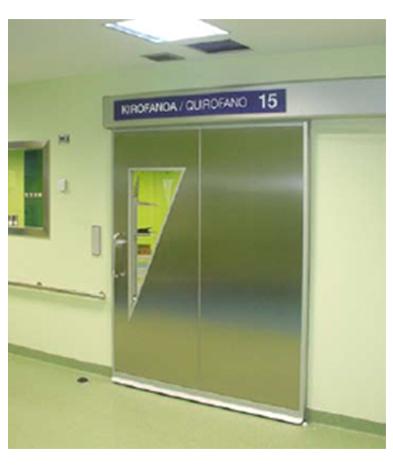 imagen 4 hermeticidad puerta hospitalaria g-u