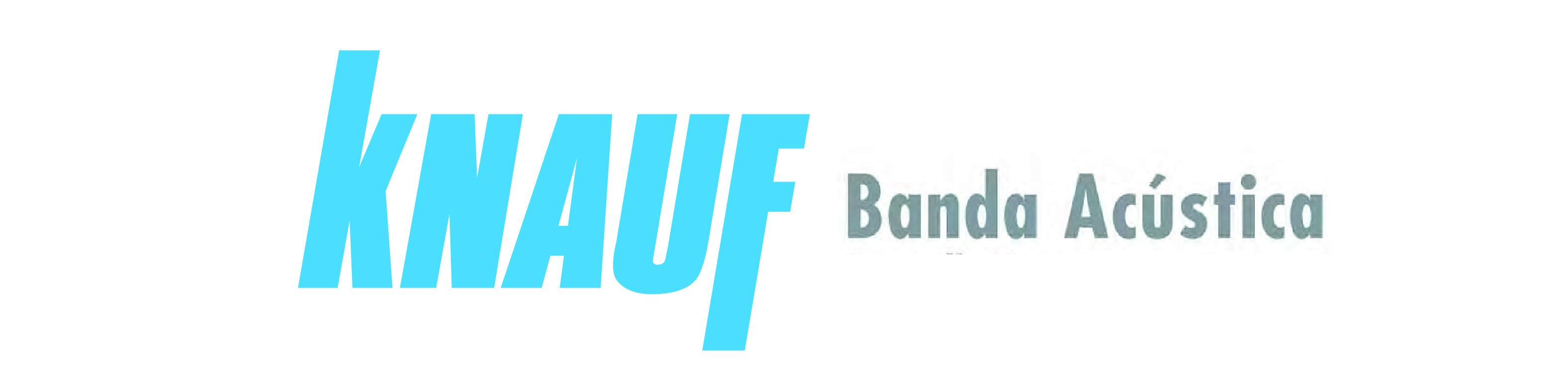 logotipo knauf banda acustica