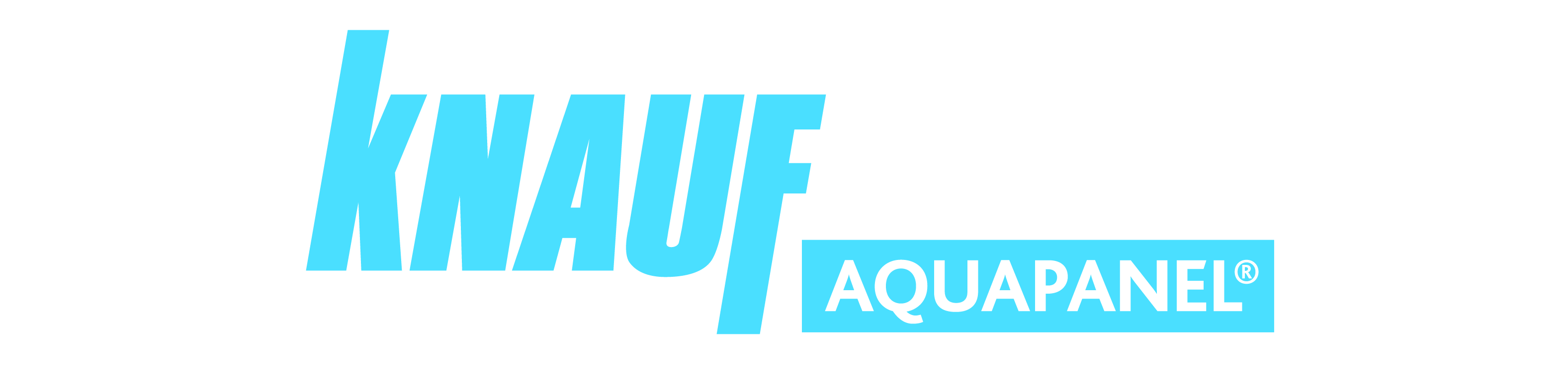 logotipo aquapanel knauf indoor