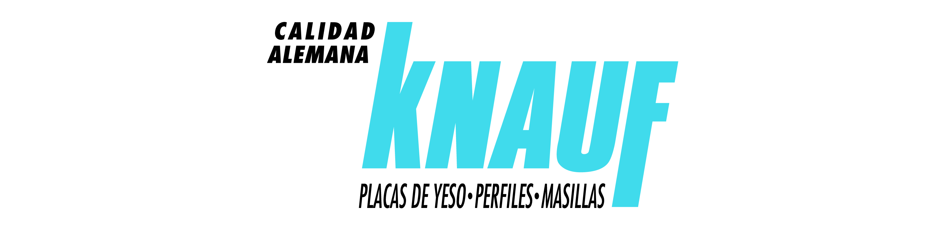 logotipo knauf placas yeso carton