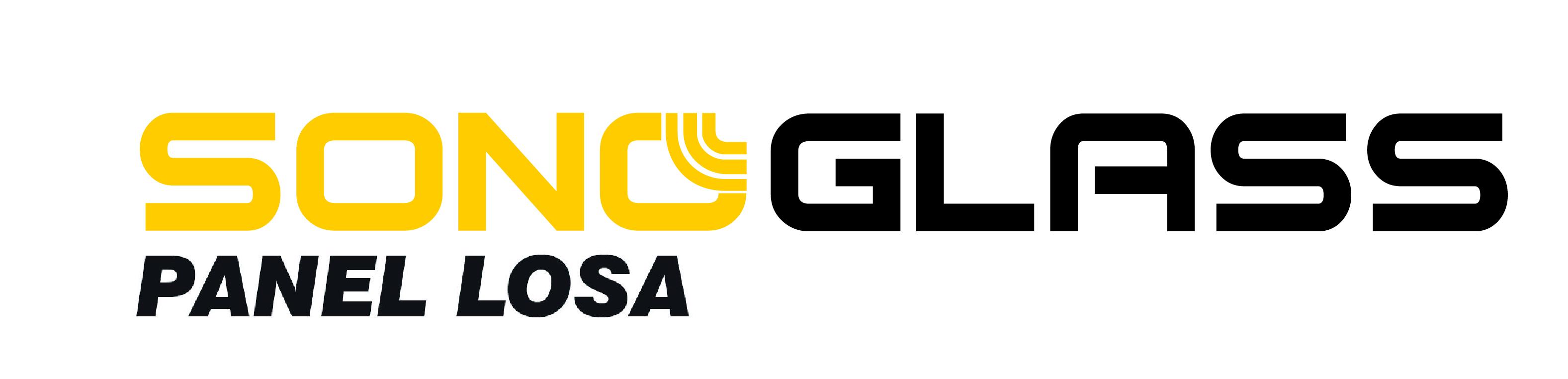 logotipo panel acustico sonoglass panel losa