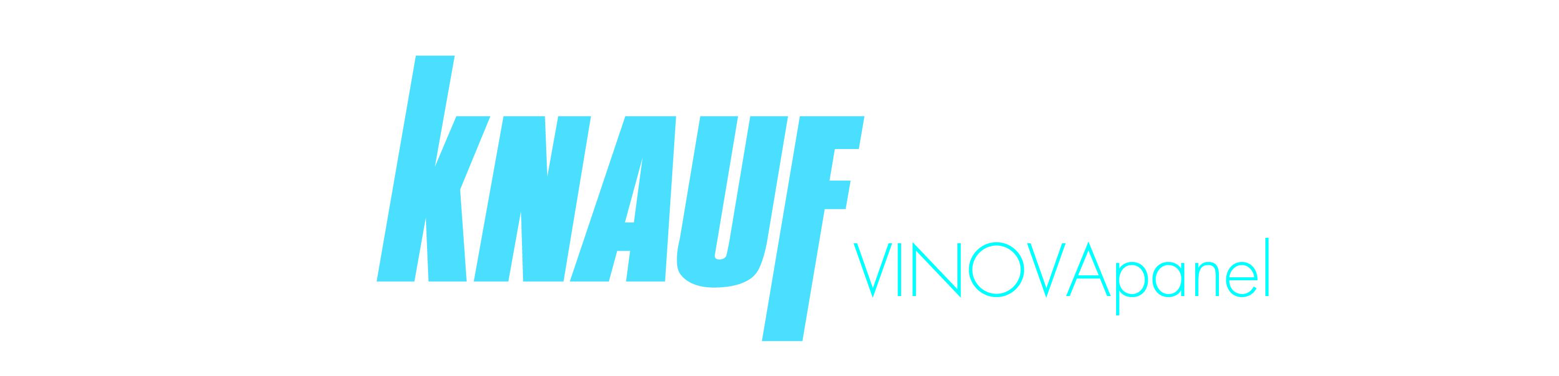 logotipo vinovapanel knauf